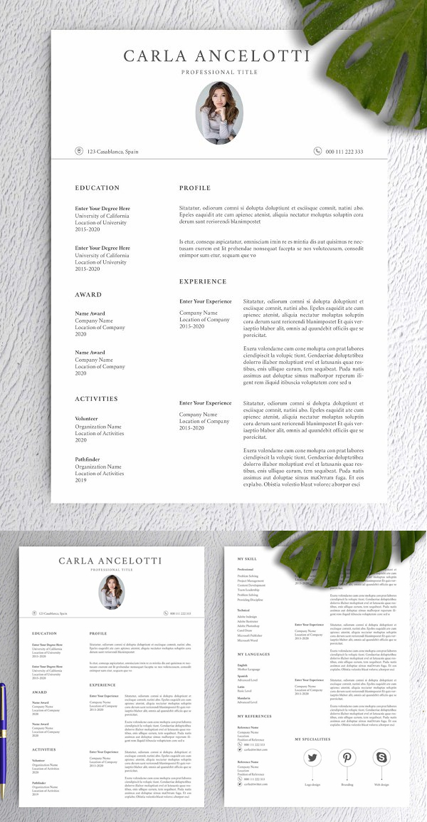 Clean High Quality Resume
