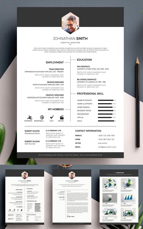 Minimal Resume / CV