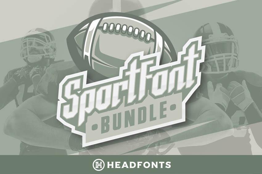 sports block font