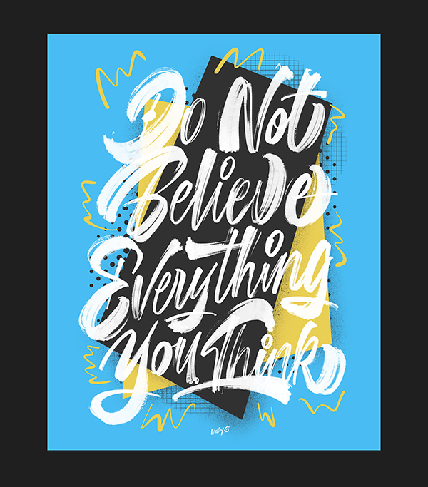 35 Remarkable Lettering and Typography Designs for Inspiration - 14
