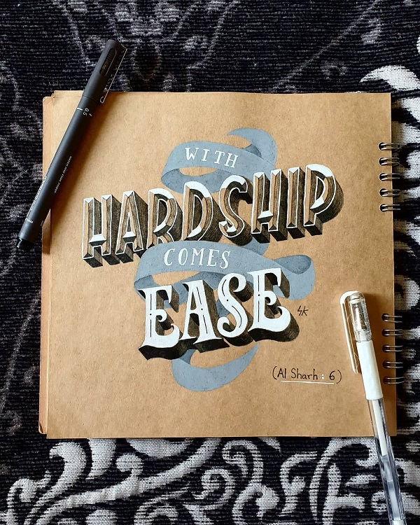 35 Remarkable Lettering and Typography Designs for Inspiration - 6
