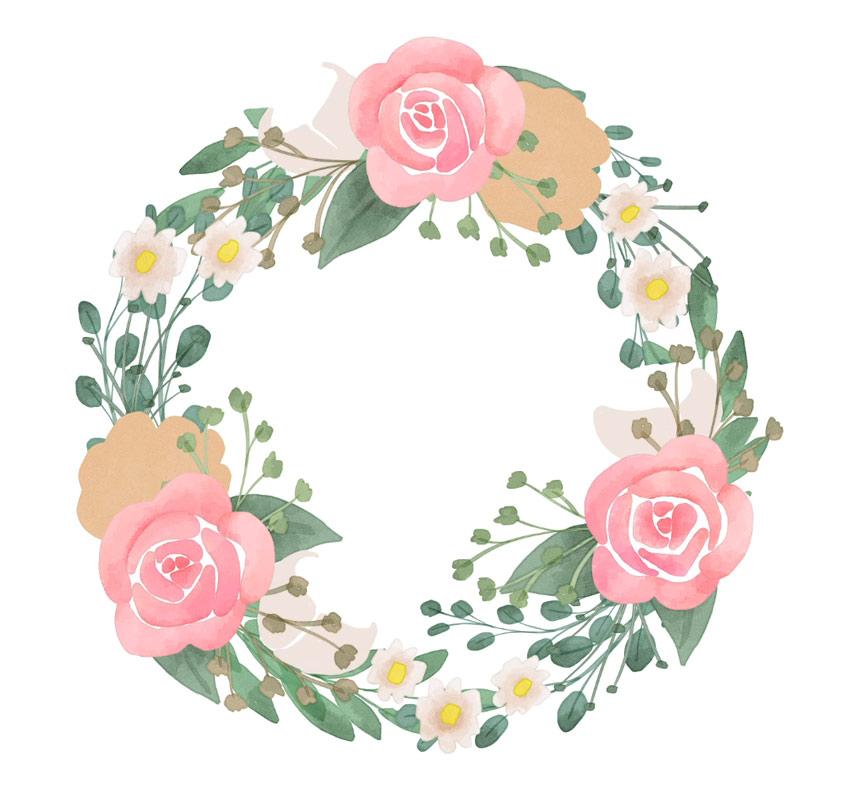 create white petals