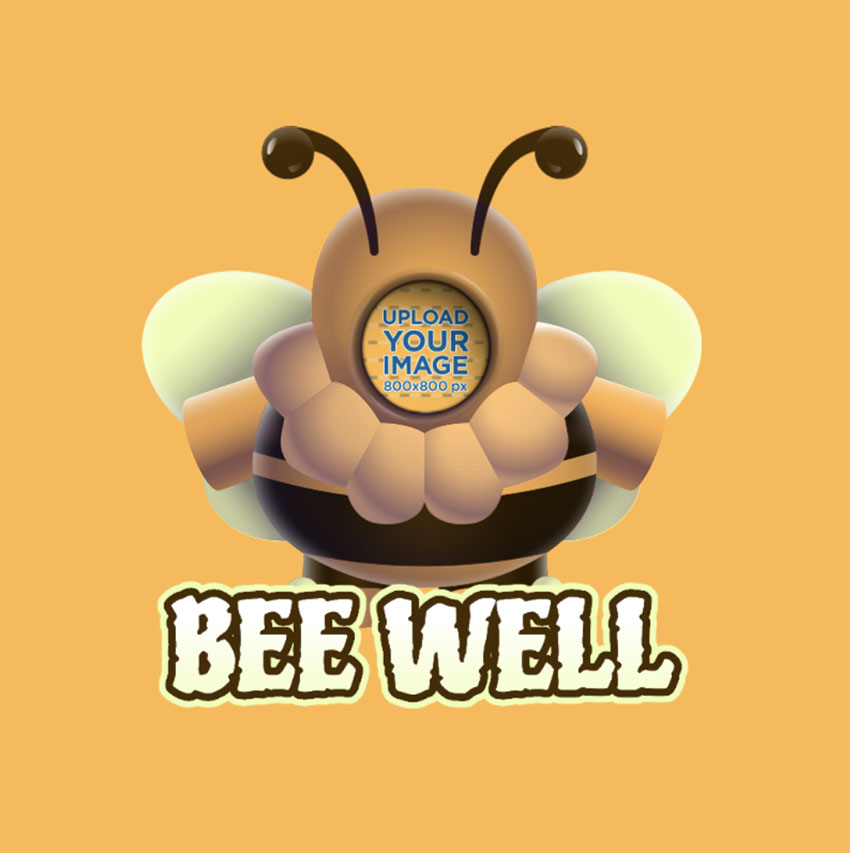 Twitch Chat Emote of a Bee Based on Fall Guys