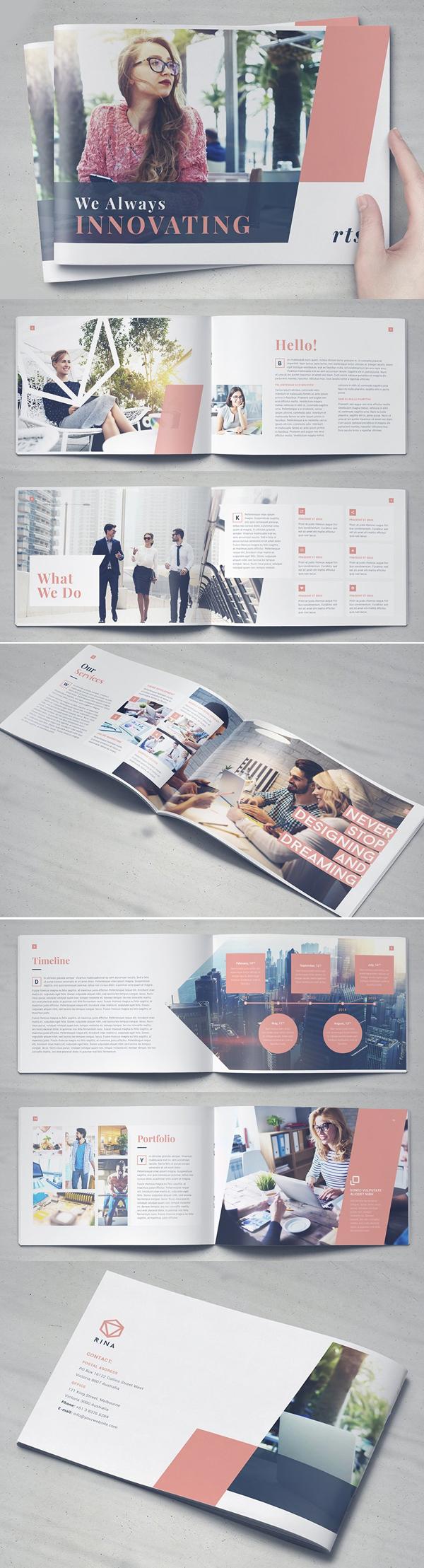 Rina Brochure Template