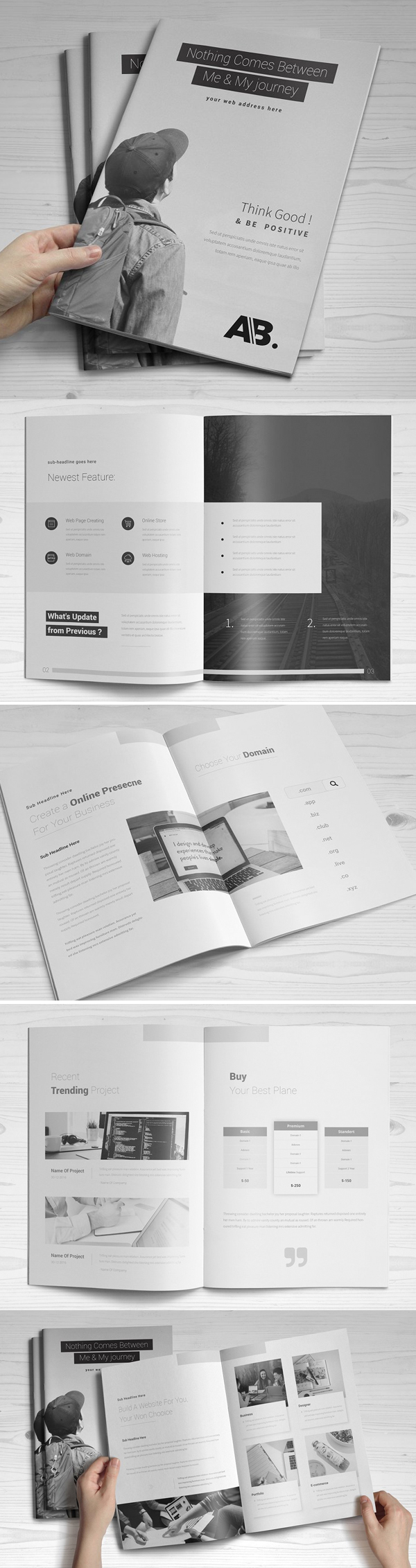 Creative Business Brochure Template