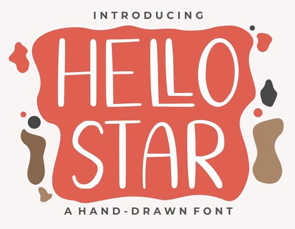Hello Star Free Font