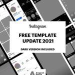Instagram GUI – PSD template