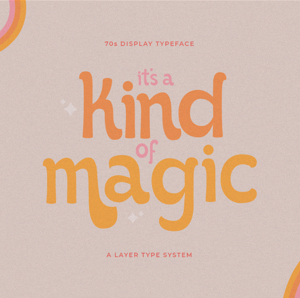 It's Kind of Magic Retro Free Font