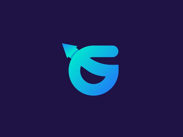 G Business Marketing Logo for GrowFast Freelancer Iqbal