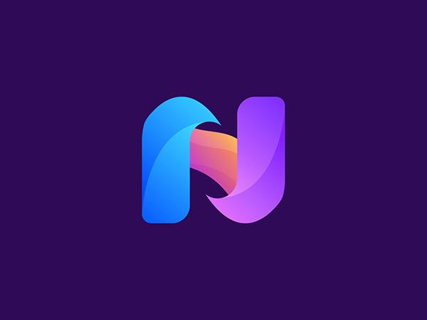 N Letter Logo - Navstract by Firoj Kabir