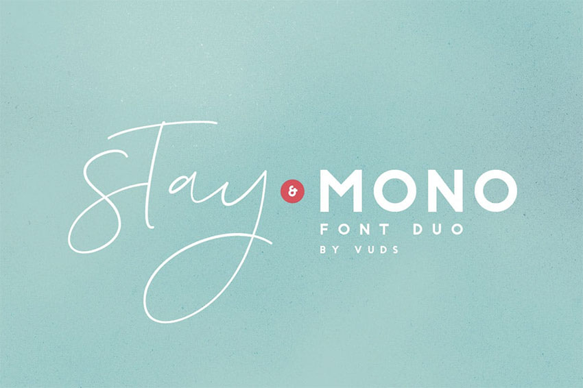 Stay Modern Minimalist Font