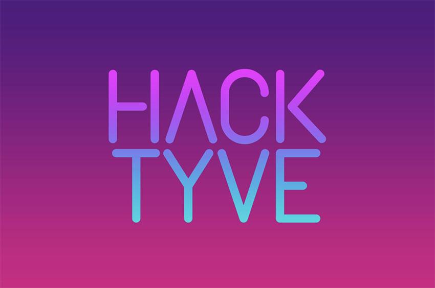 Hacktyve - Minimalist Poster Font