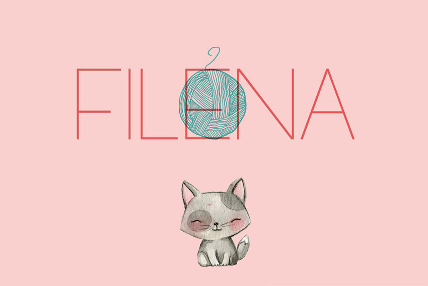 Filena Thin Modern Fonts