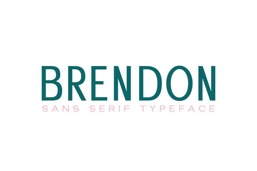 Brendon Clean Modern Fonts Serif