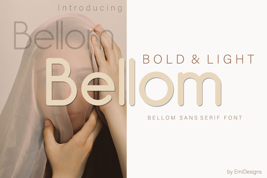 Bellom Modern Sleek Fonts