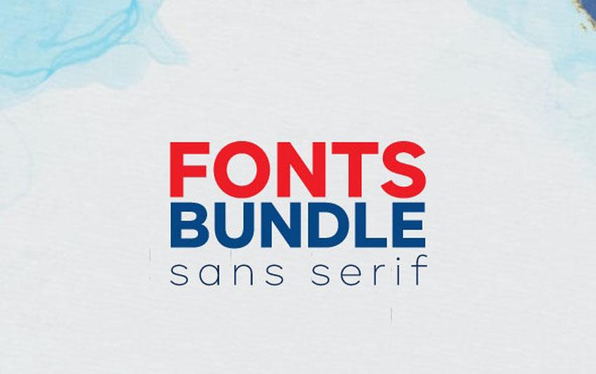 Sans Serif Modern Font Styles Font Bundle