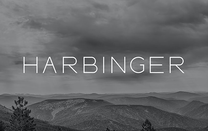 Harbinger Thin Modern Fonts