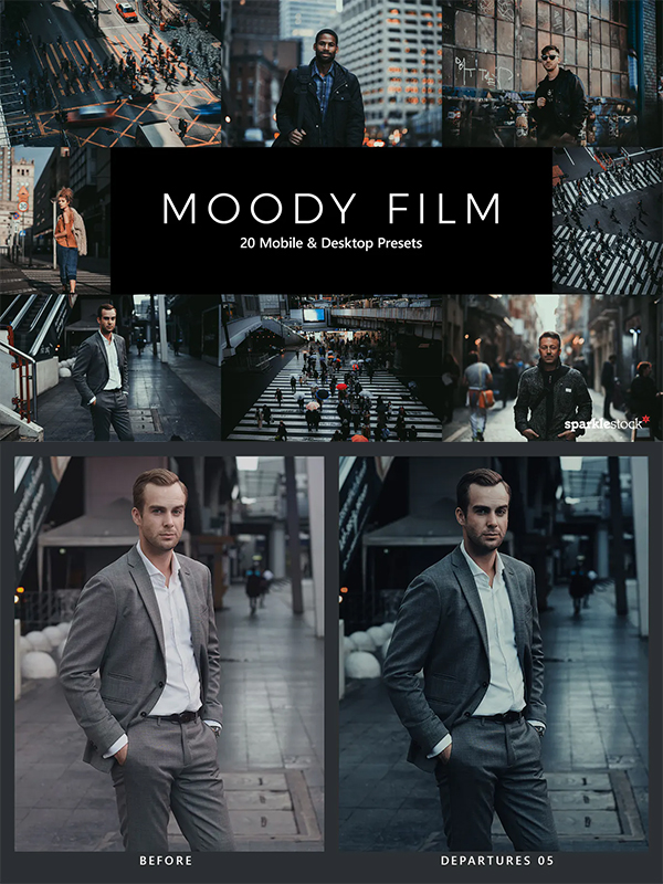 Moody Film Lightroom Presets