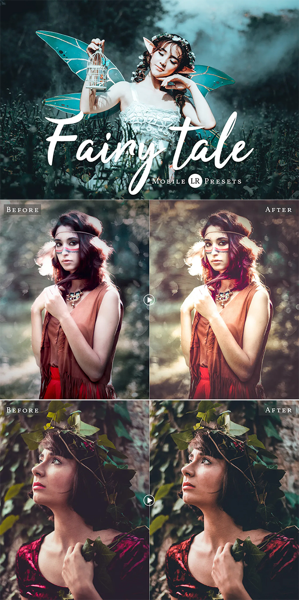 Fairytale Mobile Lightroom Presets