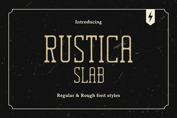 Rustica Slab Font Free Font