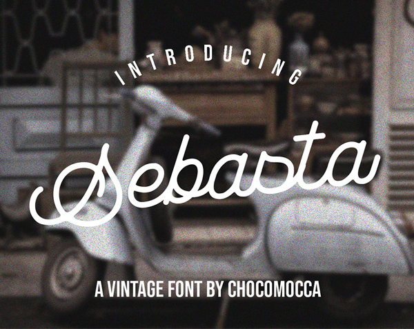 Sebasta Vintage Free Font