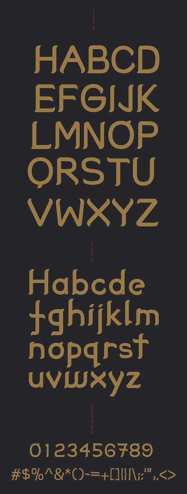 Tabitha Font Letters