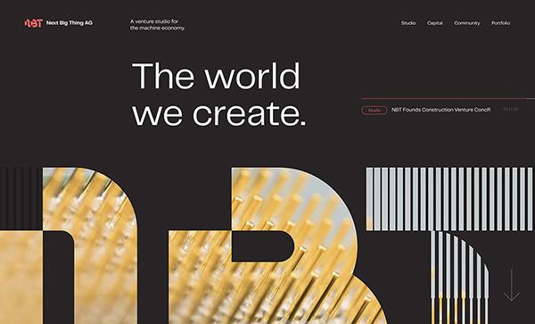 Web Design: 35 Creative UI/UX Websites for Inspiration - 13