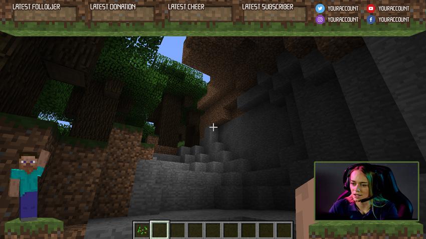 minecraft twitch overlay