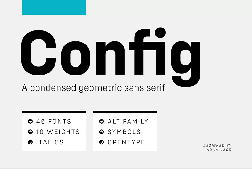 Config Font Family