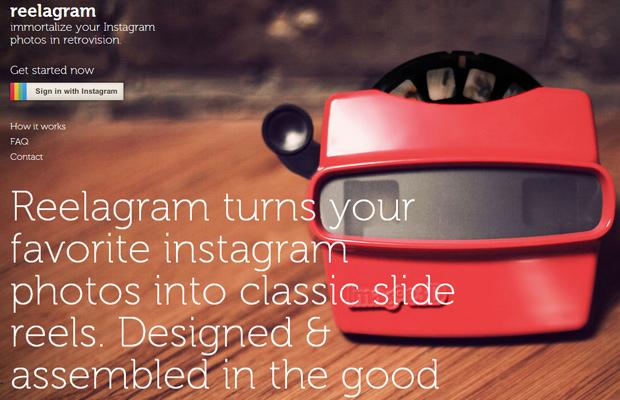 instagram product reelagram photos homepage landing website