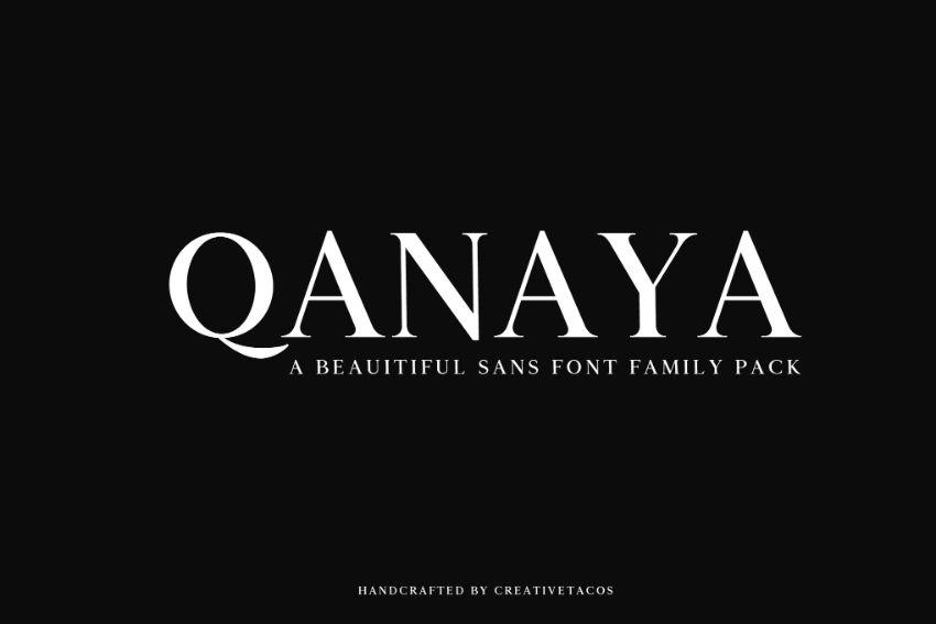 qanaya font