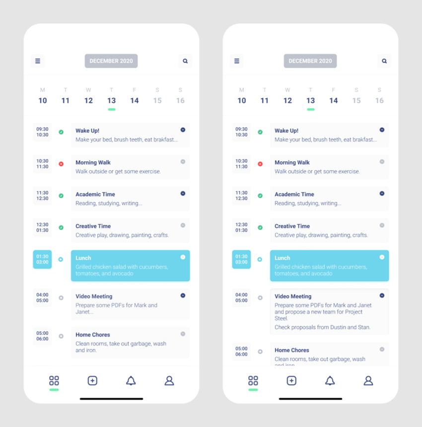 figma schedule app