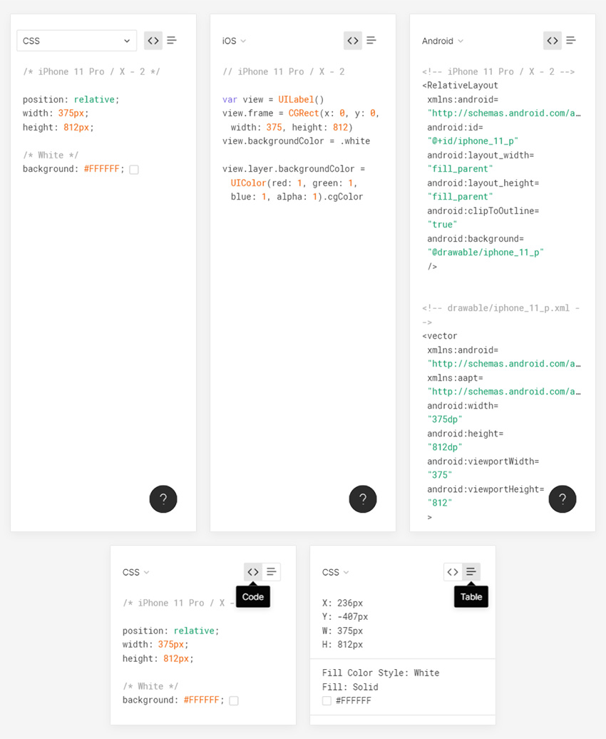 does figma generate code