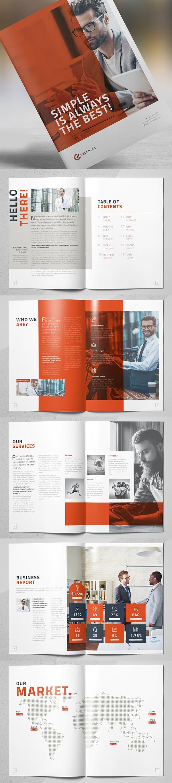 Elegant Business Brochure Template