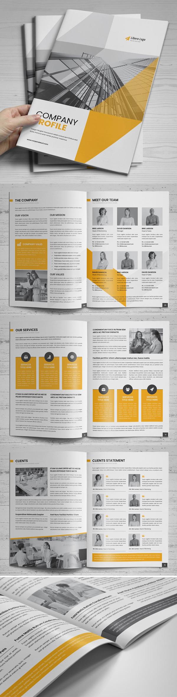 Creative Company Profile Brochure