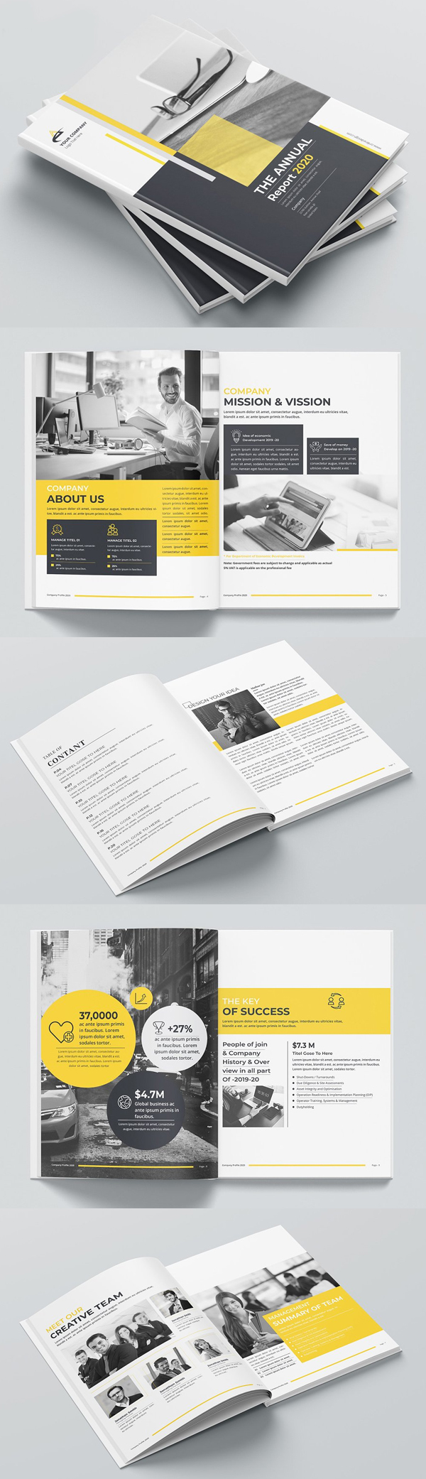 Creative Annual Report Brochure