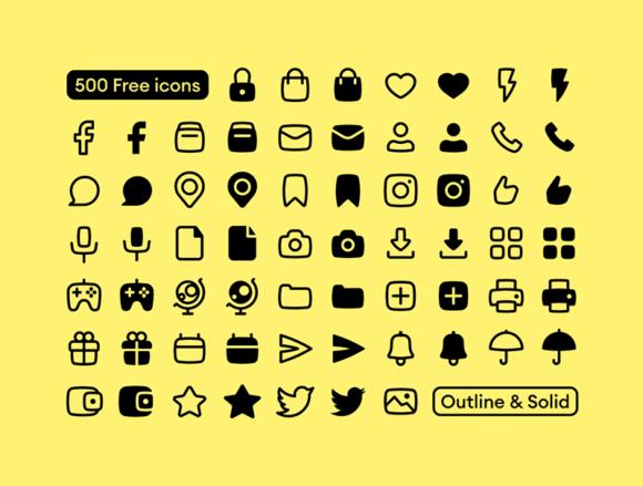 Basil: 500 free vector icons