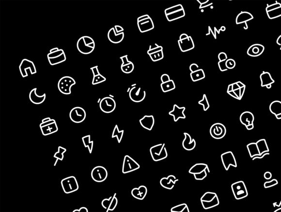 Basil outline icons