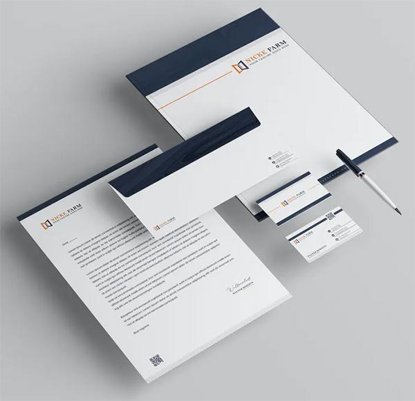 Creative Branding Identity & Stationery Pack