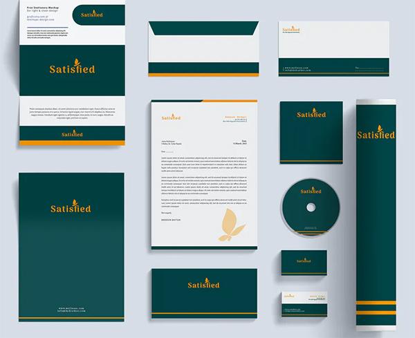 Hotel Branding Identity & Stationery Pack