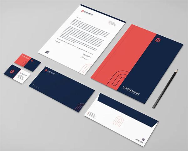 Magnacon Branding Identity & Stationery Pack