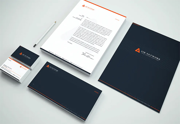 Perfect Business Branding Identity & Stationery Pack
