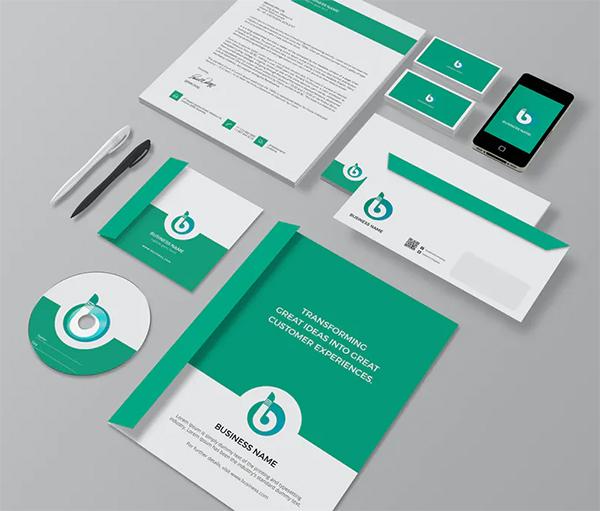 Elegant Branding Identity / Stationery Pack