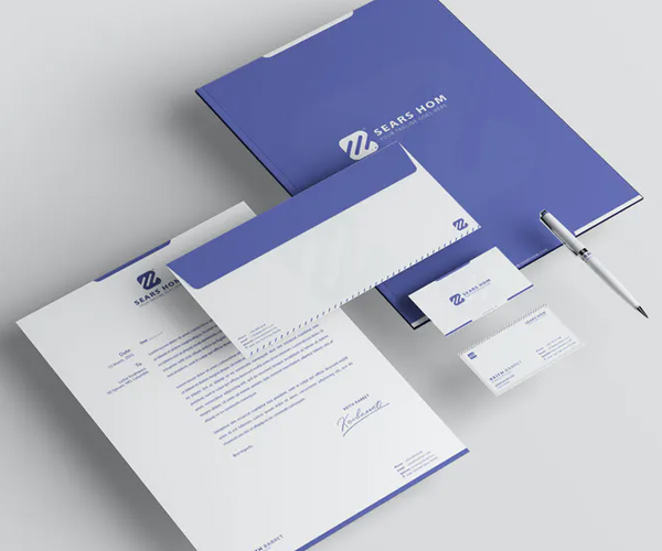 Business Branding Identity & Stationery
