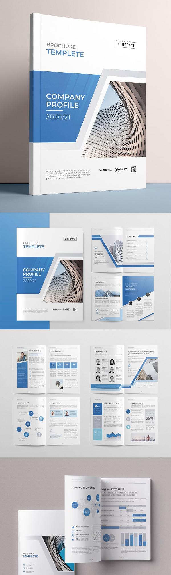 The Profile Brochure Template