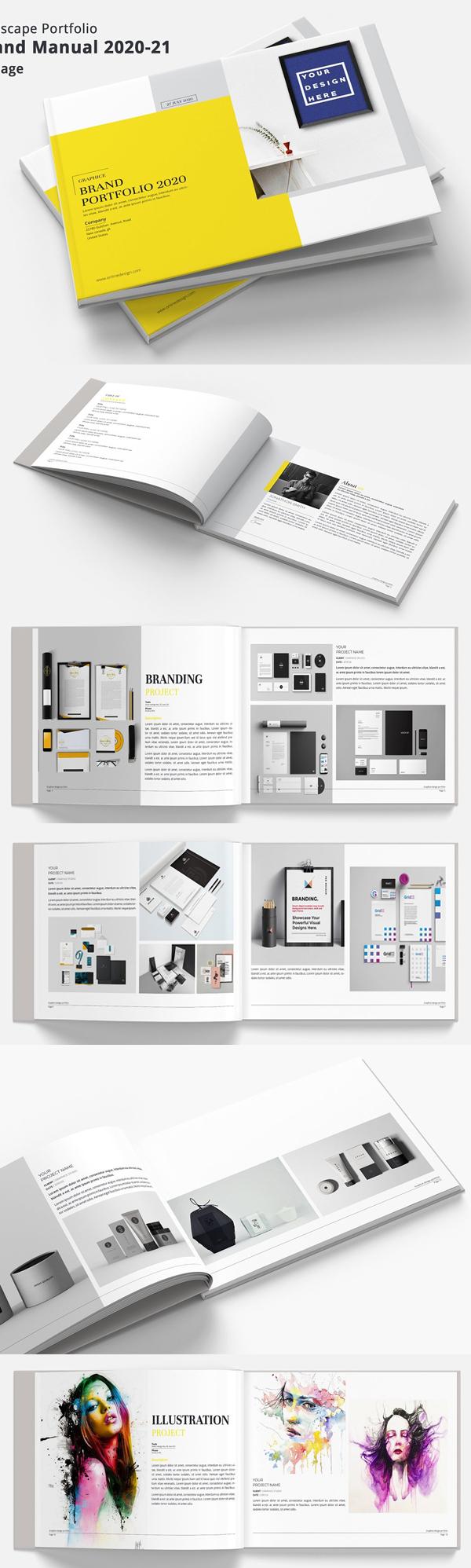 Brand Manual Portfolio
