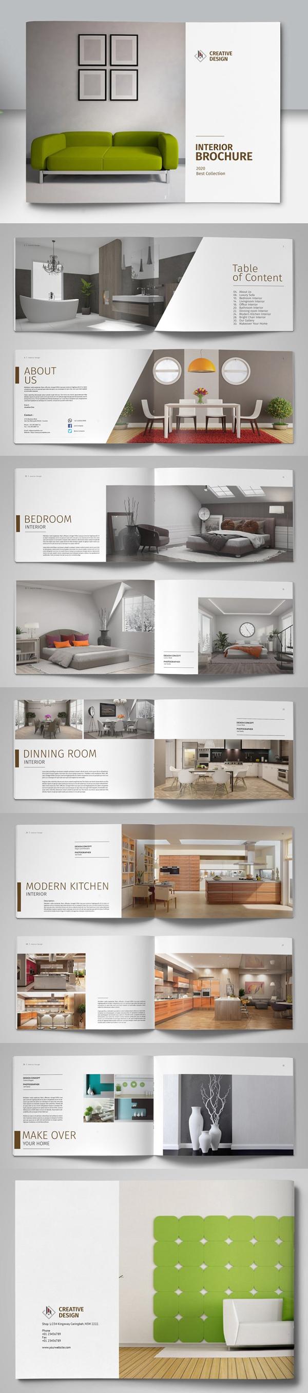 Brochure Catalog Design Template