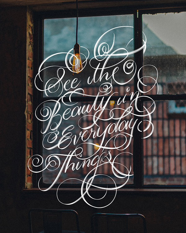 Remarkable Calligraphy and Lettering Designs for Inspiration - 4