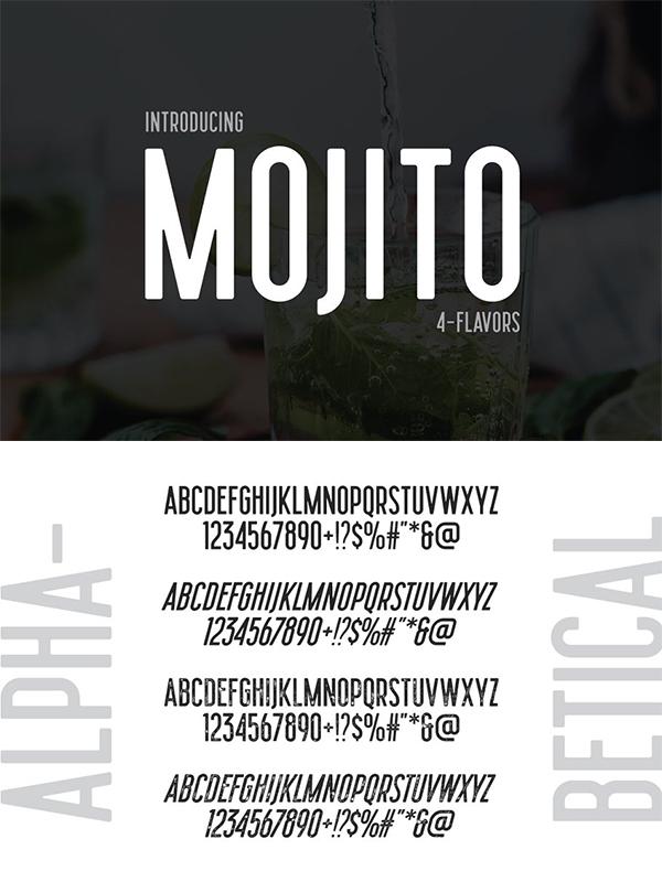 Mojito - Semi Condensed Sans