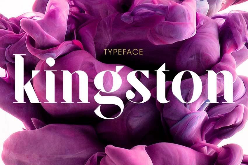 SF Kingston Font Modern Didone Font